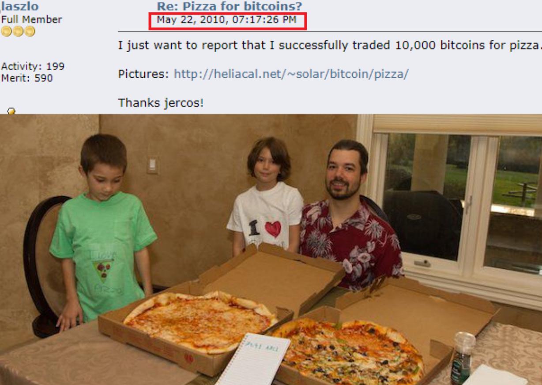 Laszlo Hanyecz Net Worth Bitcoin Pizza Day